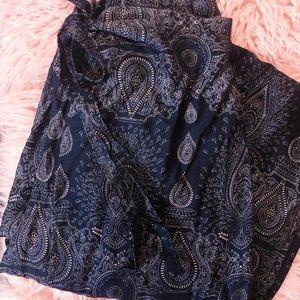 Pants - Boho Wrap Around Tie Pants